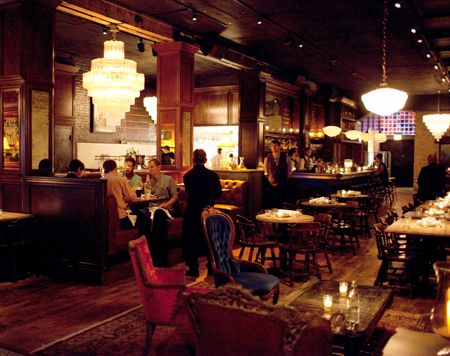 """Bavette's Bar & Boeuf - River North, Chicago (""""2014 Top 10 Steakhouses in the U.S.: Gayot"""") -- AMAZING malted whiskey ice cream! + terrific grilled shrimp, interesting salads, and some delicious takes on southern-inspired food"""