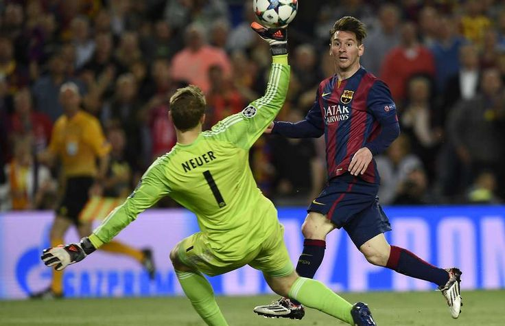 Lionel Messi goal v Bayern Munich was most tweeted about sporting moment of 2015