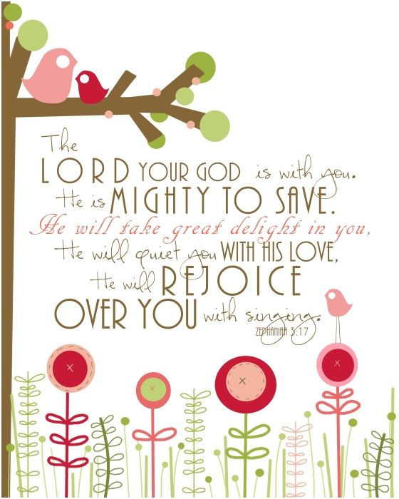 Zephaniah 3:17 wall artThe Lord, Little Girls Room, Girls Bedrooms, Kids Room, Baby Room, Scriptures Vers, Zephaniah 317, Girls Nurseries, Bible Verse