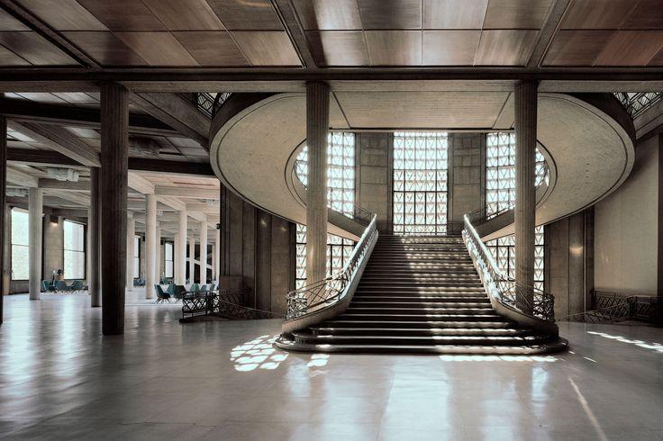 (1936-1946) Palais d'Iéna [Musée national des Travaux Public] - Auguste Perret (2000×1333)