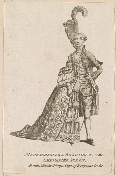 The fascinating story of the Chevalier d'Eon, a transgender diplomat at George III's court