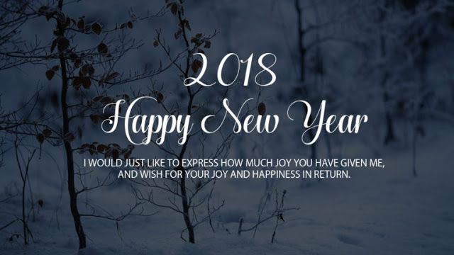 Wish you a Happy New Year Image