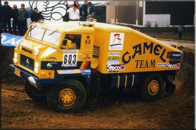 "Pegaso 7222 Turbo ""Camel Team"" Dakar 1987"