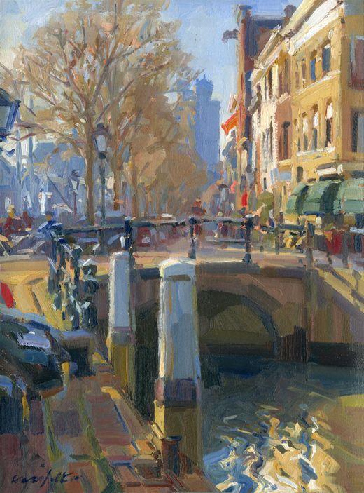 Dordrecht - Olie op doek - Hans Versfelt