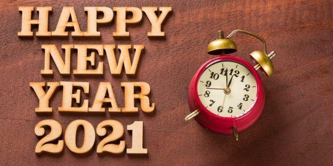 رمزيات تهنئة بالعام 2021 بطاقات تهنئة رأس السنة ميكساتك Alarm Clock Clock Happy New Year