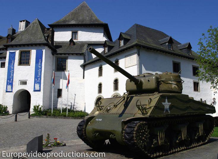 Castillo de Clervaux en Gran Ducado de Luxemburgo