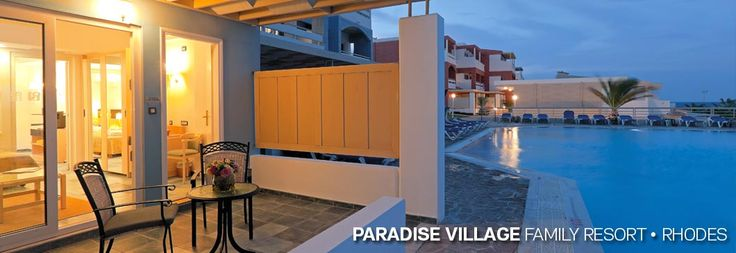 Aldemar Paradise Village  http://www.finesthotels.net/en/hotels/europe-greece-dodecaneseislands-rhodes-kallithea