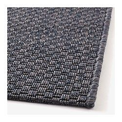 """to bring the grey color to the dining room, great with red kitchen and blue & red chairs (can be use for the next home) and better size, MORUM Rug, flatwoven - 6 ' 7 """"x9 ' 10 """" - IKEA"""