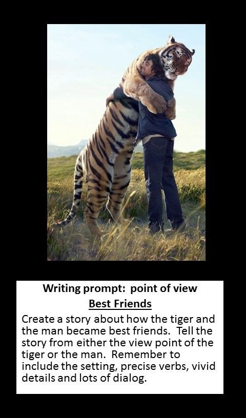 Writing Prompt: Best Friends