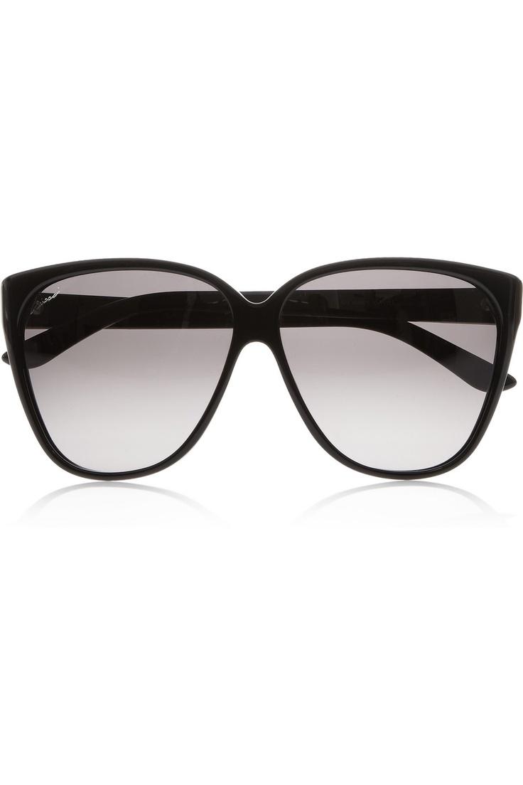 Gucci|D-frame acetate sunglasses|NET-A-PORTER.COM