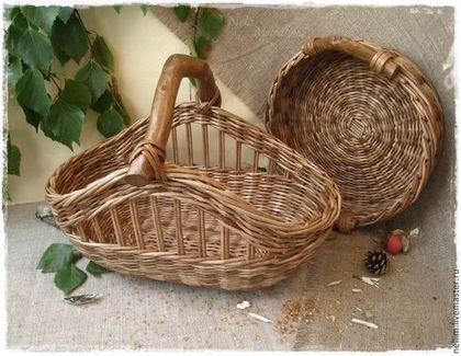 """Корзины, коробы ручной работы. Ярмарка Мастеров - ручная работа """"Лесная прогулка"""" Набор корзин. Handmade."""