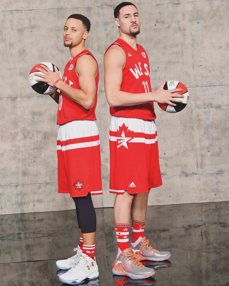 Steph Curry and Clay Thompson