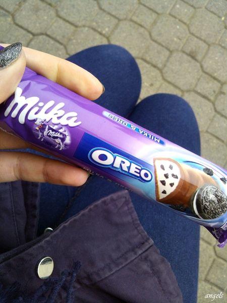 #milka #oreo #omom #loveee