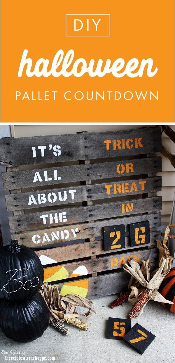 When the anticipation for Halloween is almost too much, this DIY Halloween Pallet Countdown project is made easy with craft supplies from Jo-Ann. Your kids will love counting down the days till trick-or-treating fun! Plus, get creative by making this project for Christmas.