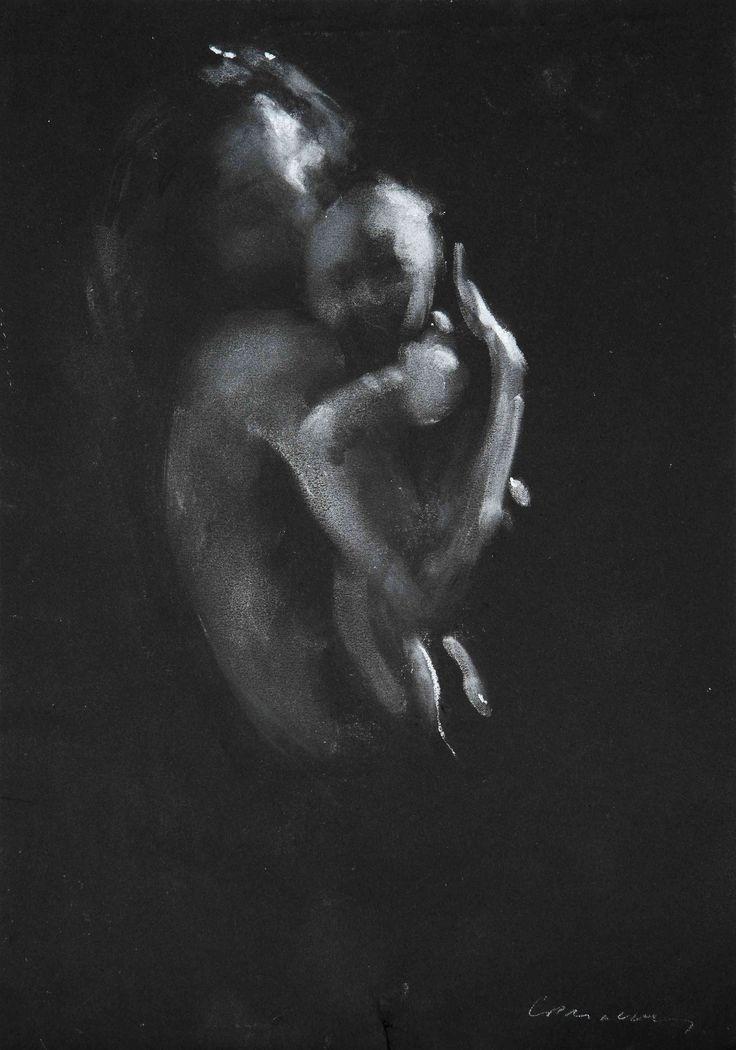 Charles Mackesy Mother and Child