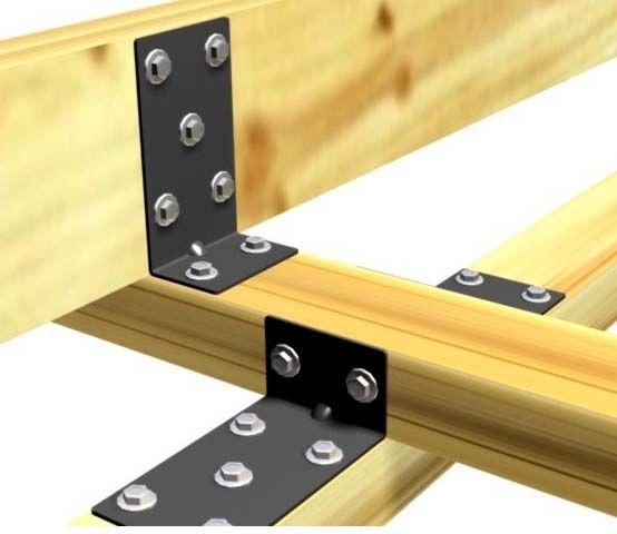Detalle uniones de vigas de madera arquitectura pinterest - Vigas de madera ...