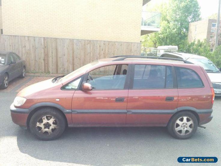Vauxhall Opel Zafira 1.8 16v Elegance Year 2000 For Spares Or Repair - Starts #opel #zafira #forsale #unitedkingdom