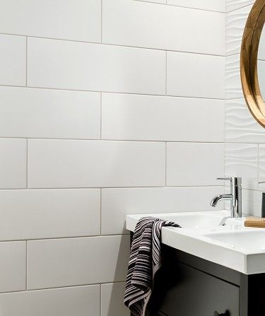 Swave™ White Tile