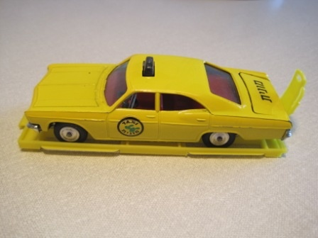 Gamda Koor Sabra Cragstan Chevrolet Caprice Israeli Yellow Cab Taxi, mint with box base! £55.00