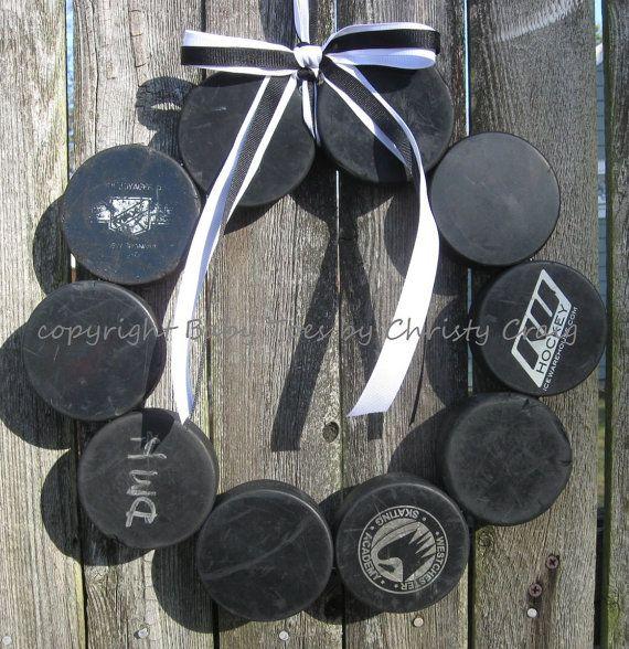 The Original Hockey Wreath