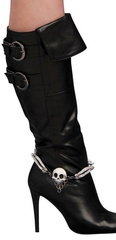 Pirate Boots For Women | ... pirate costume accessories women s pirate costume boot jewelry