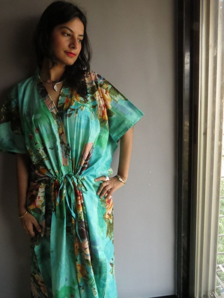 Cozy Kaftan Style made From D13 Fabric Pattern