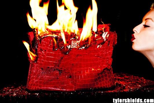 Clint Eastwood's daughter under fire after destroying a $100,000 Hermes Birkin handbag - Telegraph