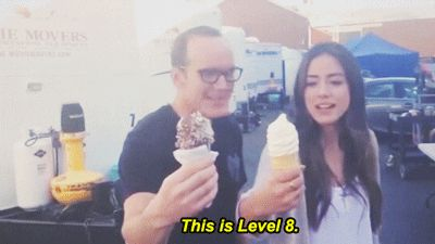 Agents of Shield | Tumblr They are so cute! I have to say if it weren't for Coulson, I probably wouldn't like Skye...
