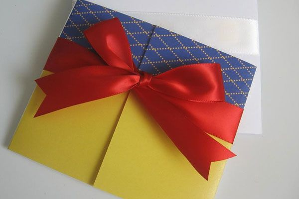 Bold, Bright, and Wonderful. Snow White inspired but grownup enough to not look like a invite to a birthday party.