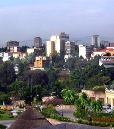 Addis Ababa, Ethiopia--a chaotic but beautiful city
