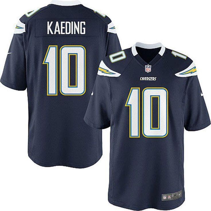 Nate Kaeding San Diego Chargers Nike Youth Team Color Game Jersey - Navy Blue