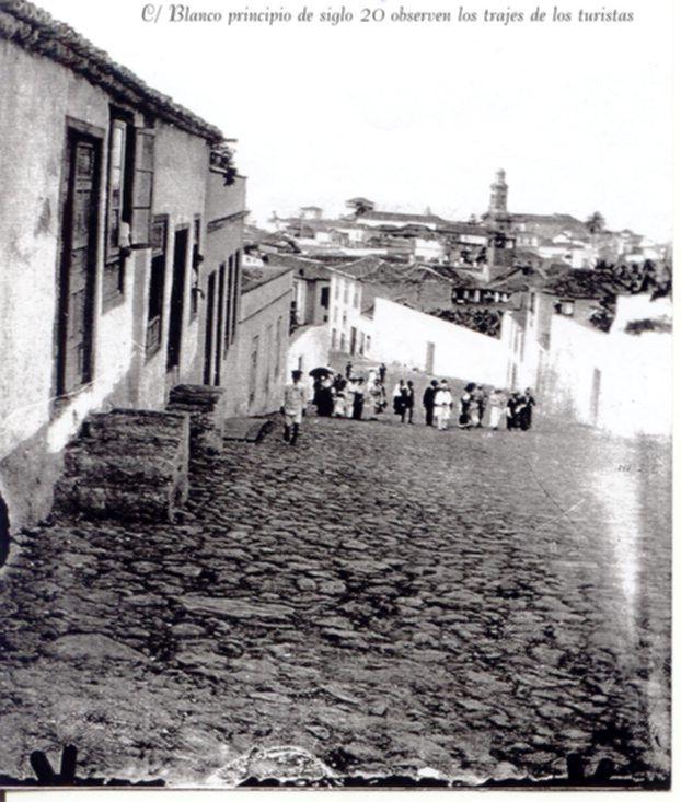 """Calle Blanco """"el antes"""" Puerto de la Cruz, Tenerife"""