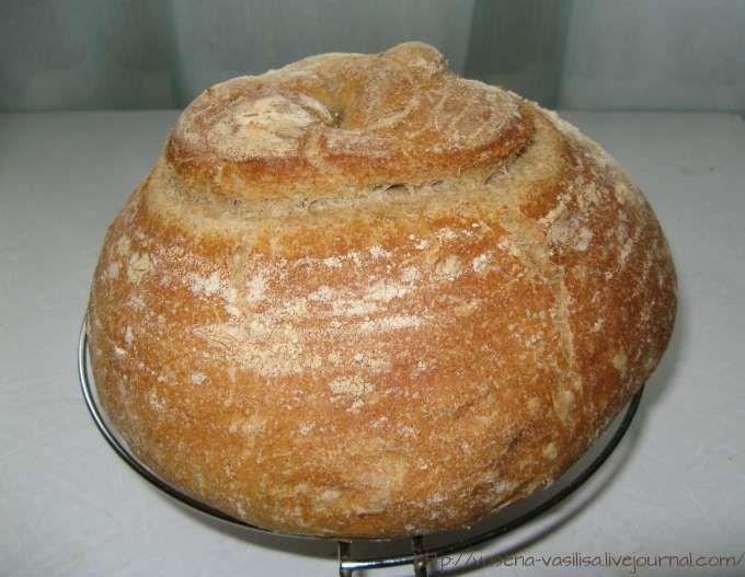 """Познакомила с рецептом этого хлеба rozik1965 в своем блоге """"Любопытный Буратино"""". Автором этого прекрасного хлеба является испанский хлебопек Манель, который ведет блог на испанском -Panis Nostrum. У хлеба очень интересная история, об этом можно почитать в журнале у Розы. А я должна …"""