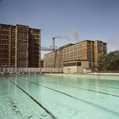 bývalý plavecký bazén ve Zlíně