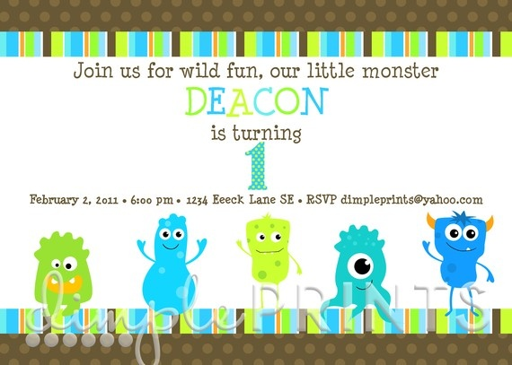 I'm quickly falling for the monster theme: Shower Ideas, Monster Party, 1St Bday, 1St Birthday, Birthday Monsters, Party Ideas, Monster Invite, Birthday Ideas, Birthday Party