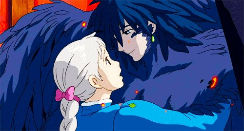 Howl and Sophie ☆ Howl's Moving Castle ( ハウルの動く城 ) ☆ Studio Ghibli ( スタジオジブリ )☆ Hayao Miyazaki ( 宮﨑 駿 )