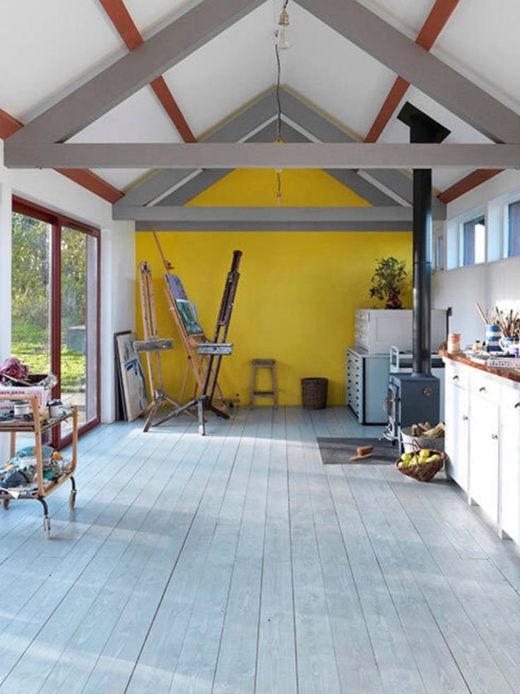 Studio Shed, Painting Studio, Backyard Ideas, Sheds, Outdoor Spaces