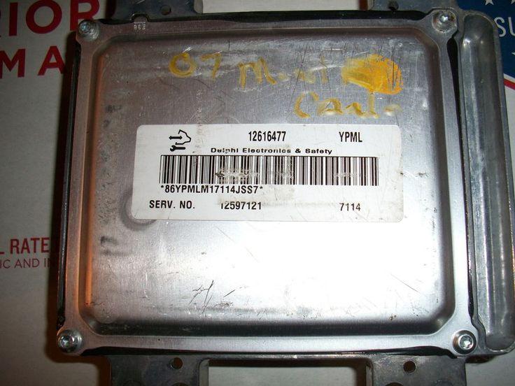 # 07 EQUINOX ESCALADE SILVERADO COMPUTER ENGINE CONTROL ECU ECM 12616477 YPML