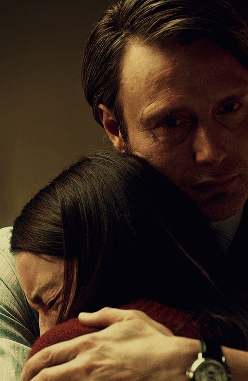 """""""I'll protect you."""" (Right up until I kill you.) #Hannibal"""