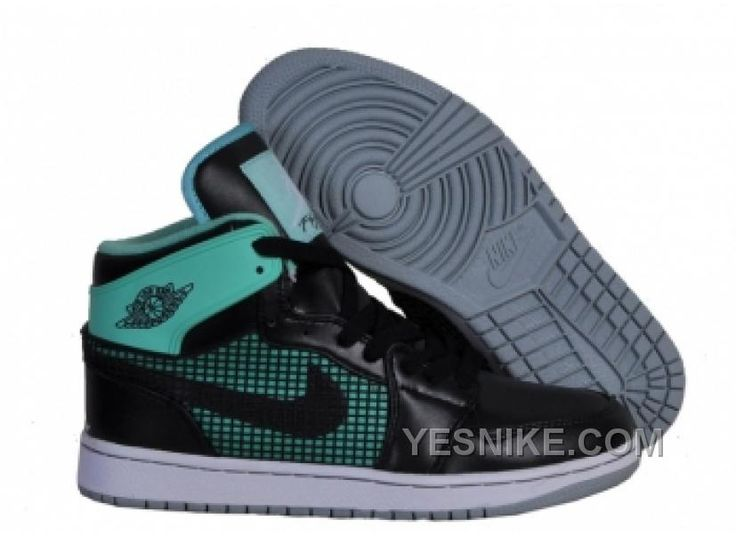 Air Jordan 1 Retro 89 Newest Mens Shoes Online Black Green