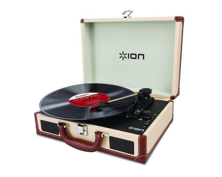 ION Kofferplattenspieler Vinyl Motion Deluxe, Cream Jetzt bestellen unter: https://moebel.ladendirekt.de/dekoration/accessoires/?uid=d8f1c6ab-b635-54e3-90a6-2c402a71f4ed&utm_source=pinterest&utm_medium=pin&utm_campaign=boards #accessoires #multimedia #technik #audio #dekoration