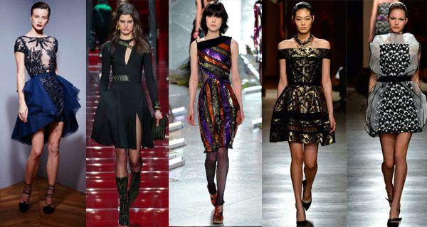 Модные коктейльные платья осень-зима 2015-2016 как всегда порадовали своим разнообразием. Не смотря на холодный сезон дизайнеры предложили весьма открытые модели