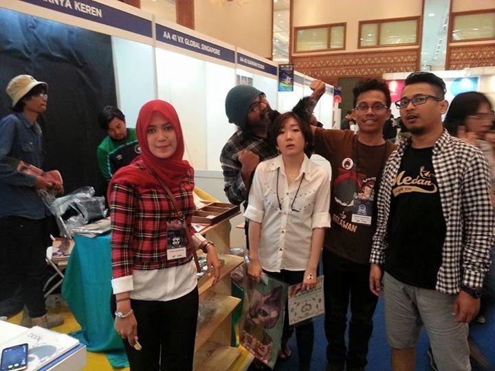 Booth AA40 - Kayaknya Keren Popcon Asia 2015