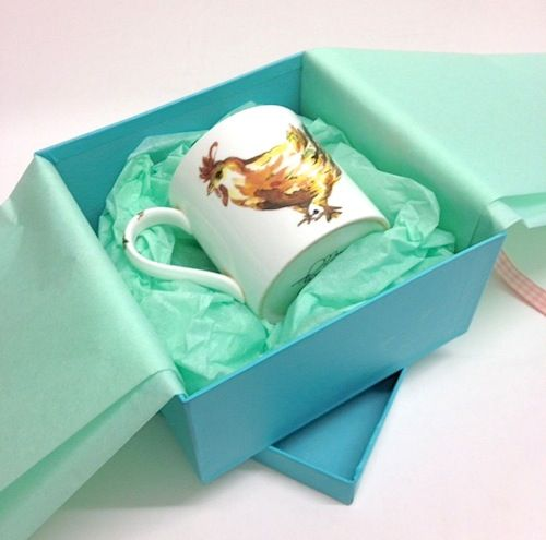 How to add tissue to gift boxes
