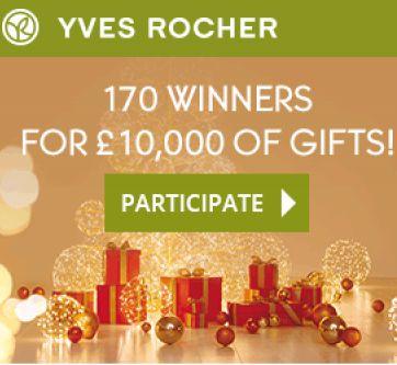 FREE Yves Rocher Christmas Giveaway - Gratisfaction UK
