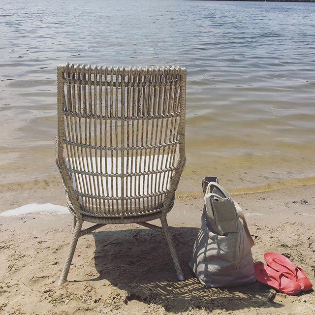 Summer#outdoorfurniture#sunnyday#@noonupl#plaża#rattan#mebleogrodowe