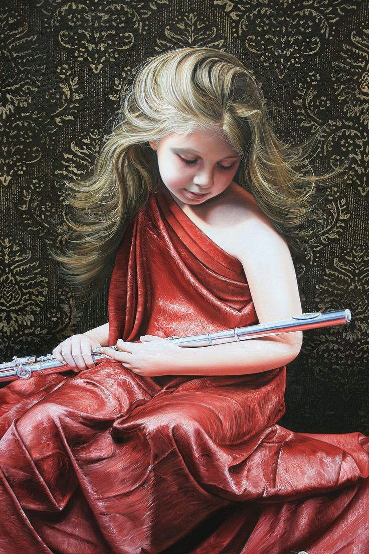 Incríveis e realistas pinturas a óleo de Christiane Vleugels