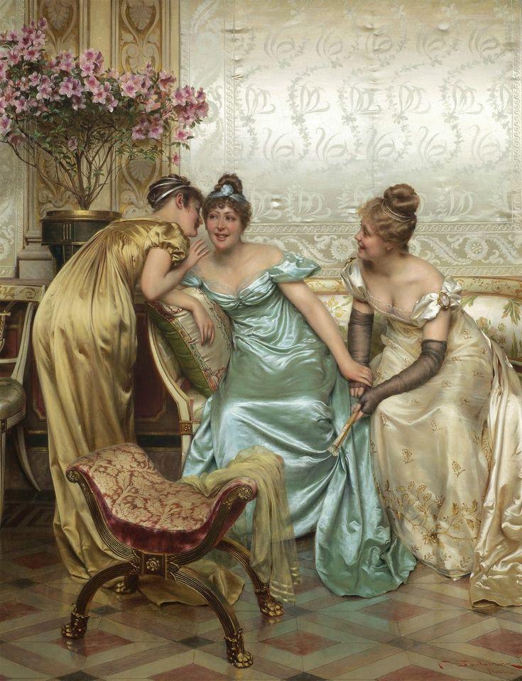 Стих, фривольные картинки 19 век