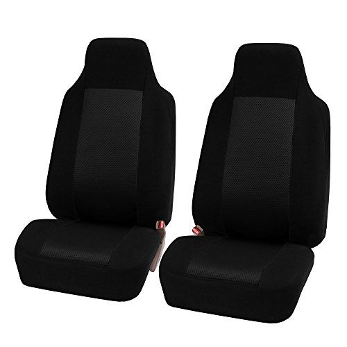 HOLIDAY SALE FH FB102112 Classic Cloth Car Seat Covers Universal Full Set Complete