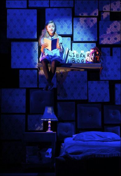 Matilda on Broadway. I saw this this past August and it was the best thing ever.
